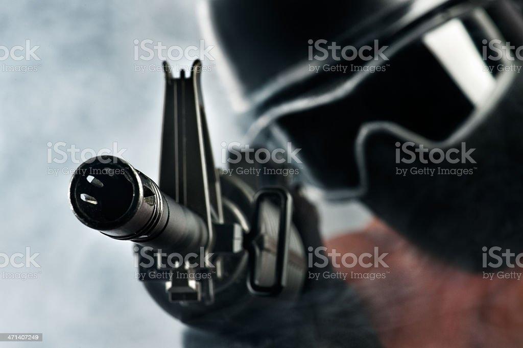 Terrorist Attack royalty-free stock photo