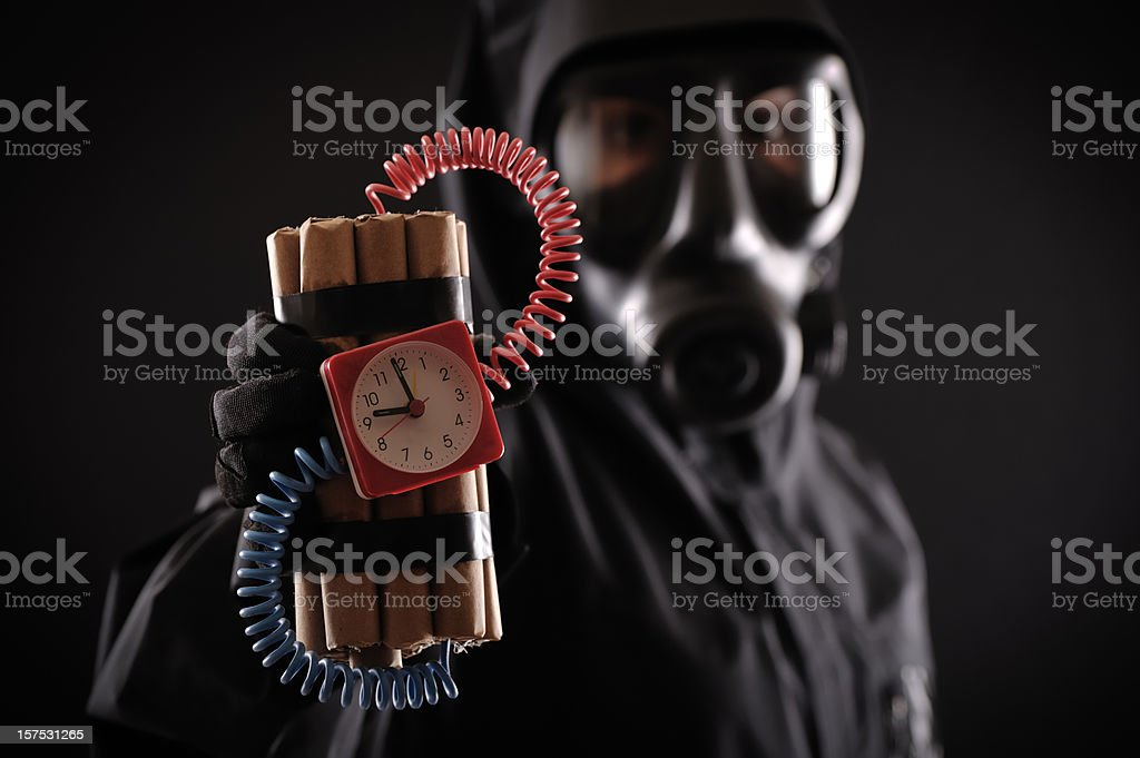 terrorist royalty-free stock photo