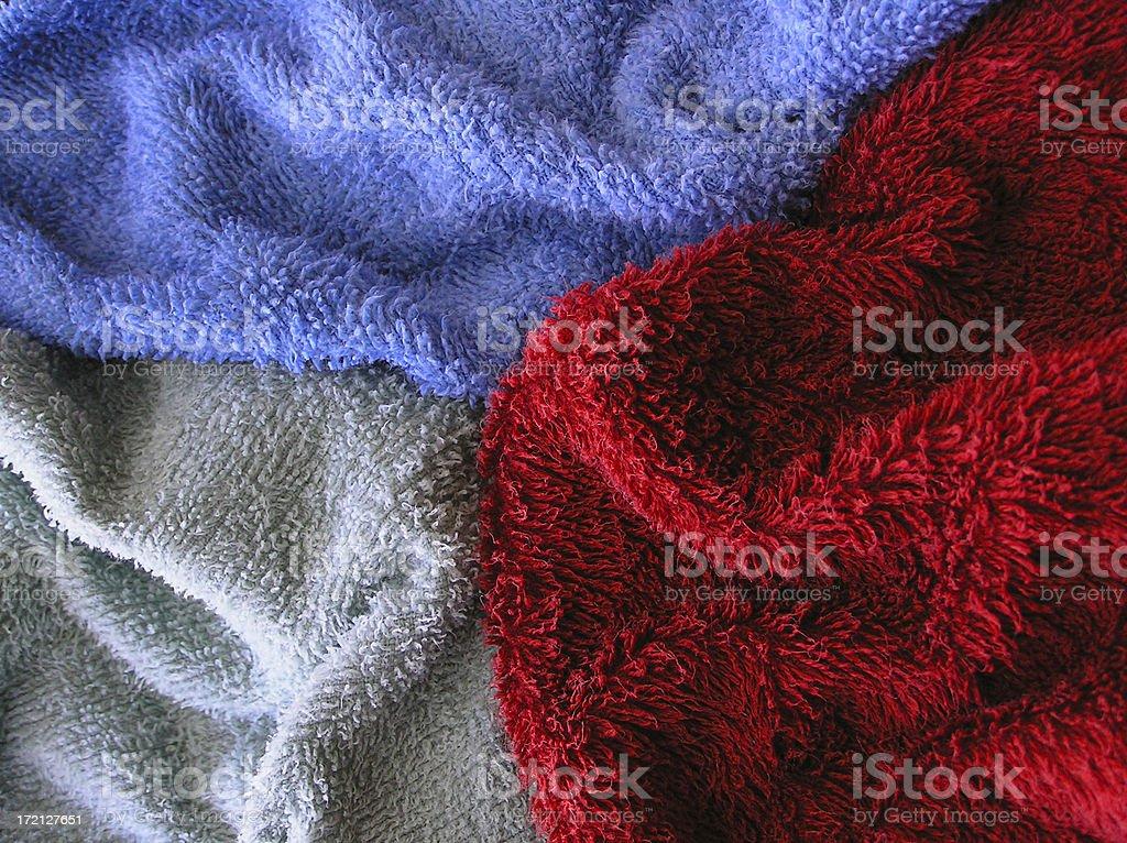 Terry Cloth royalty-free stock photo