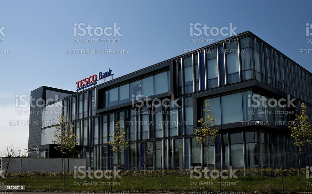 Tesco Bank Headquarters, Edinburgh, Scotland stock photo