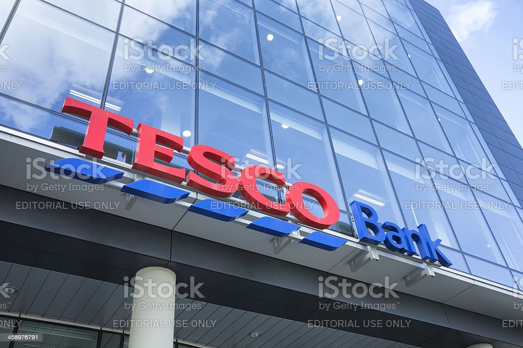 Tesco Bank Offices, Glasgow stock photo