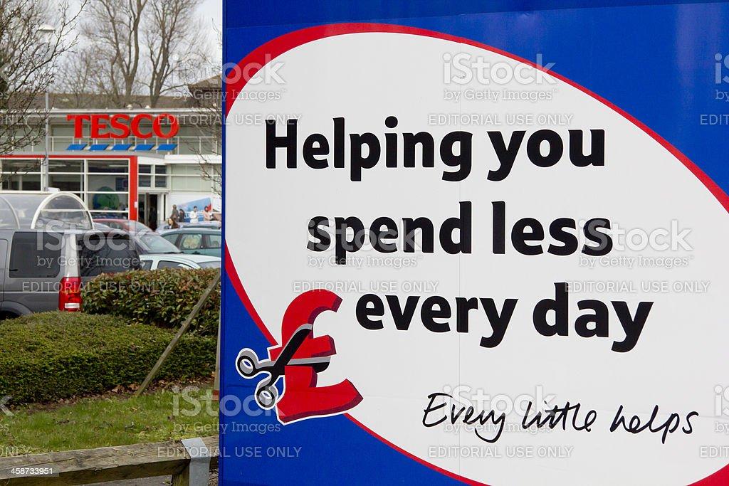 Tesco store, Taunton, Somerset stock photo