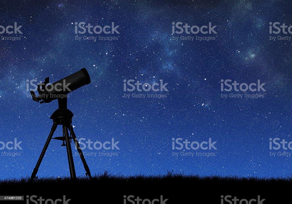 Tescope stock photo
