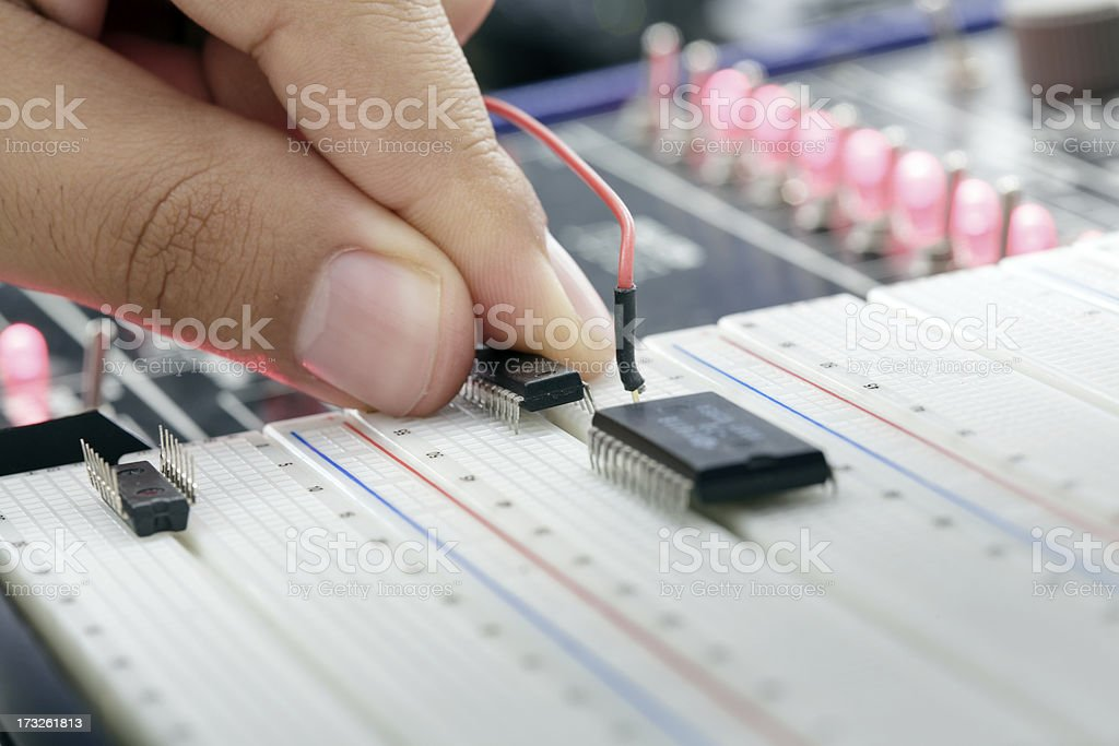 test in lab royalty-free stock photo