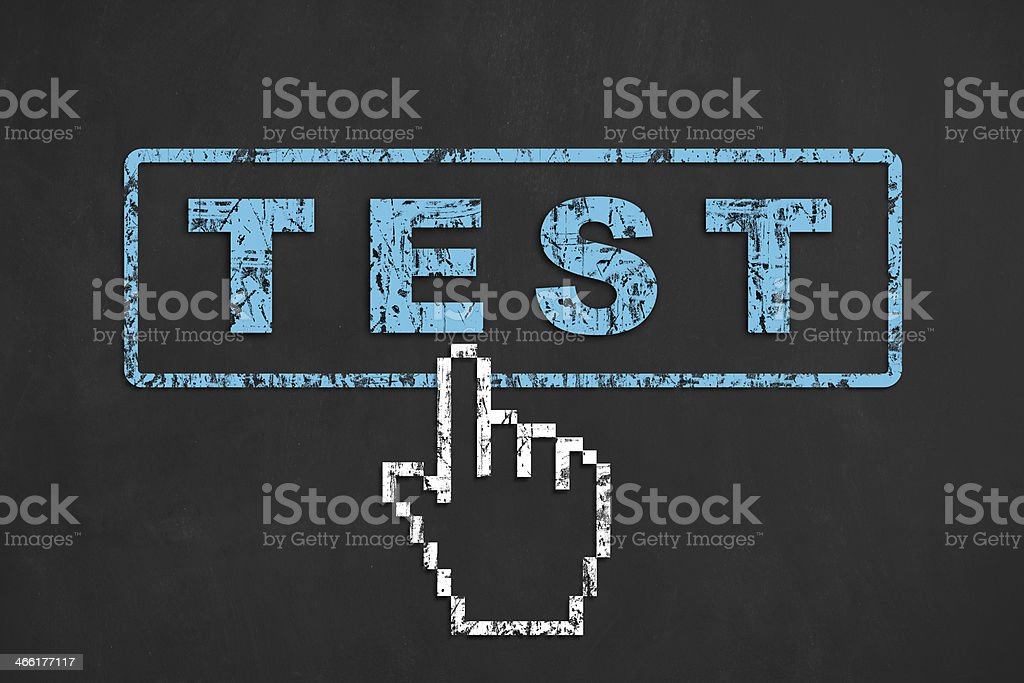 Test royalty-free stock photo