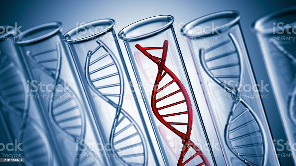 DNA Test stock photo