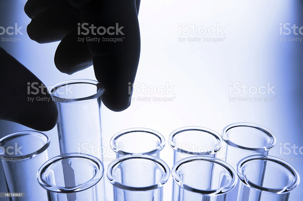 Test Tube 6 royalty-free stock photo