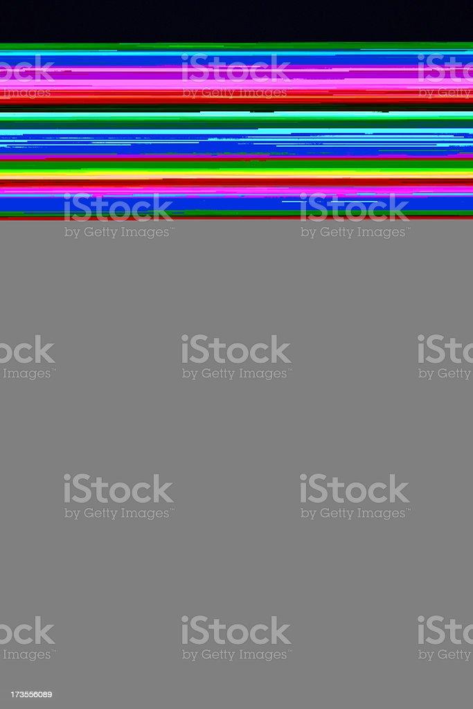 test tube in spot light royalty-free stock photo