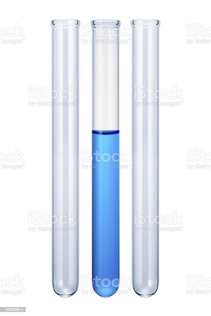 Test tube stock photo
