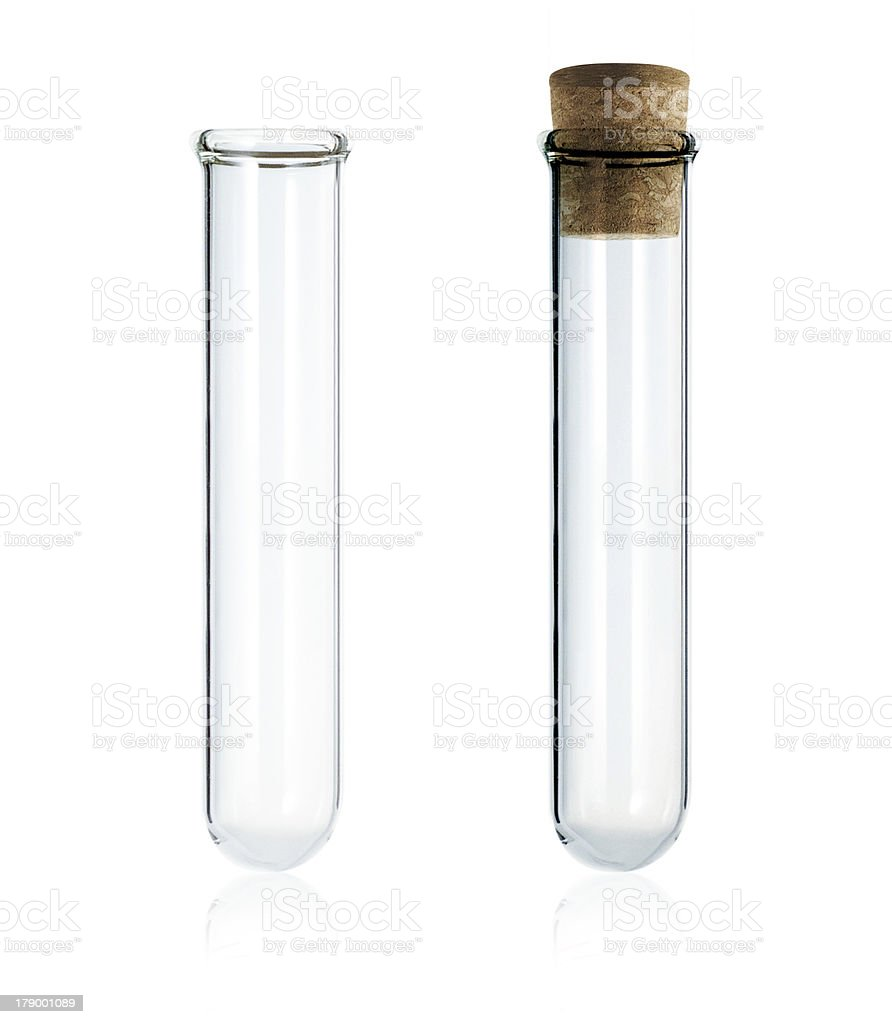 Test tube stock photo