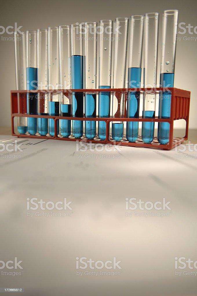 test tube series royalty-free stock photo