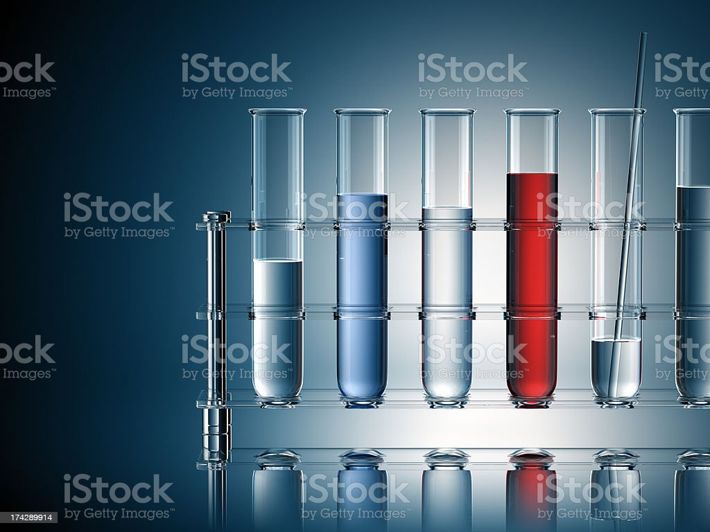 Test Tubes royalty-free stock photo