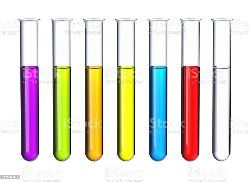 Test tubes. stock photo