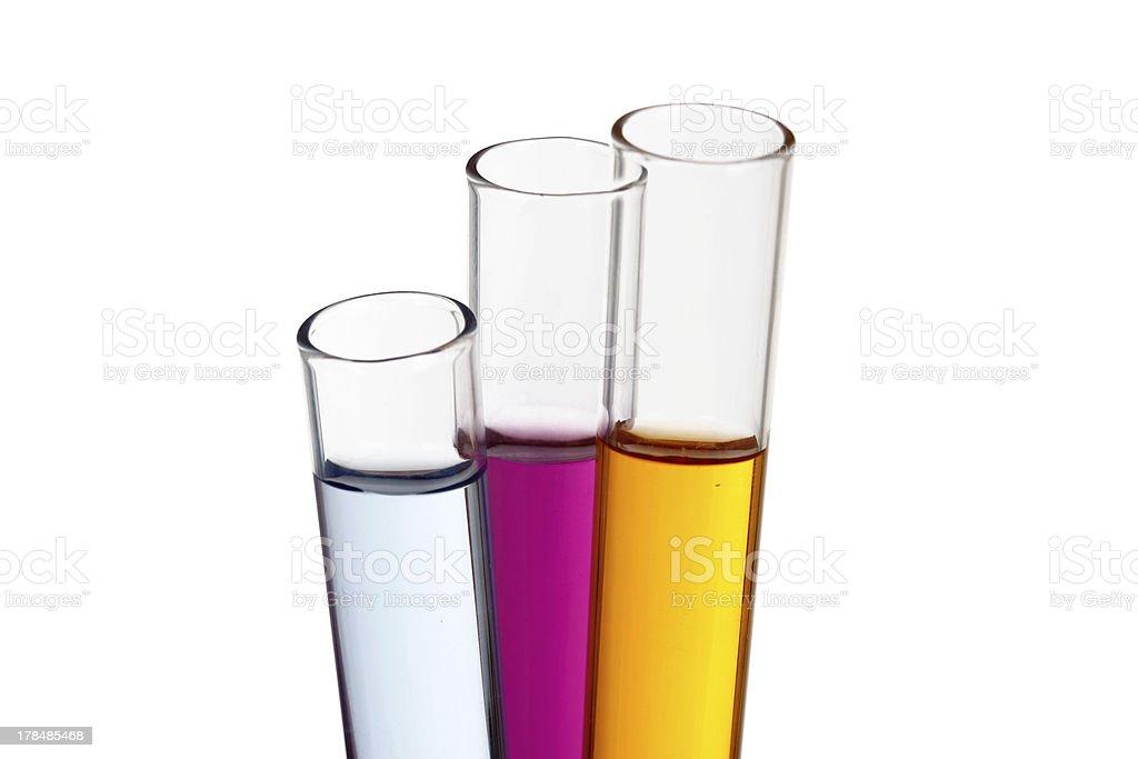 Test Tubes. royalty-free stock photo