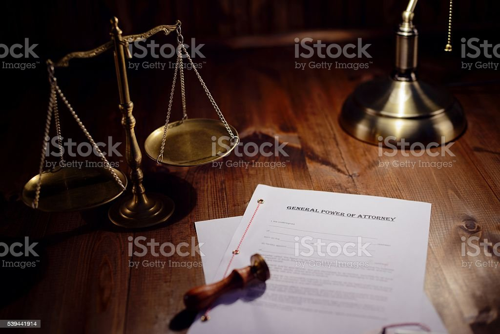 Testament ready to be signed stock photo