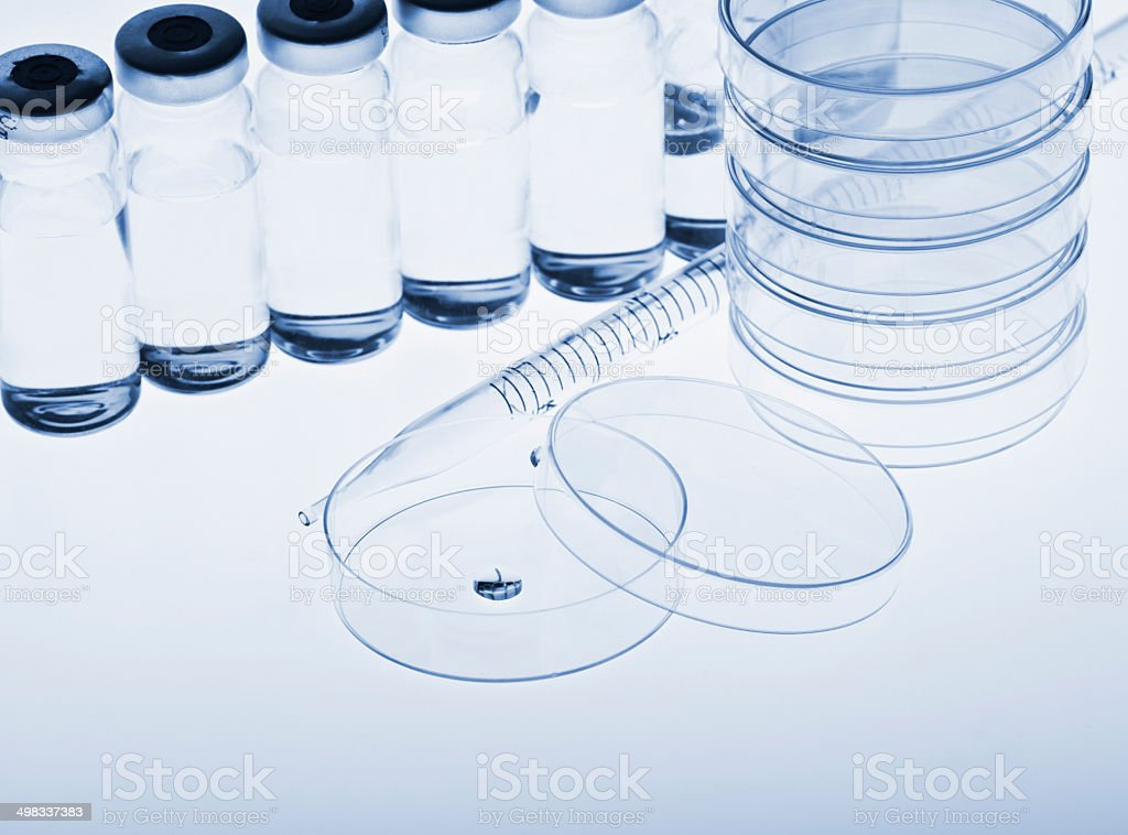 Test-tubes royalty-free stock photo