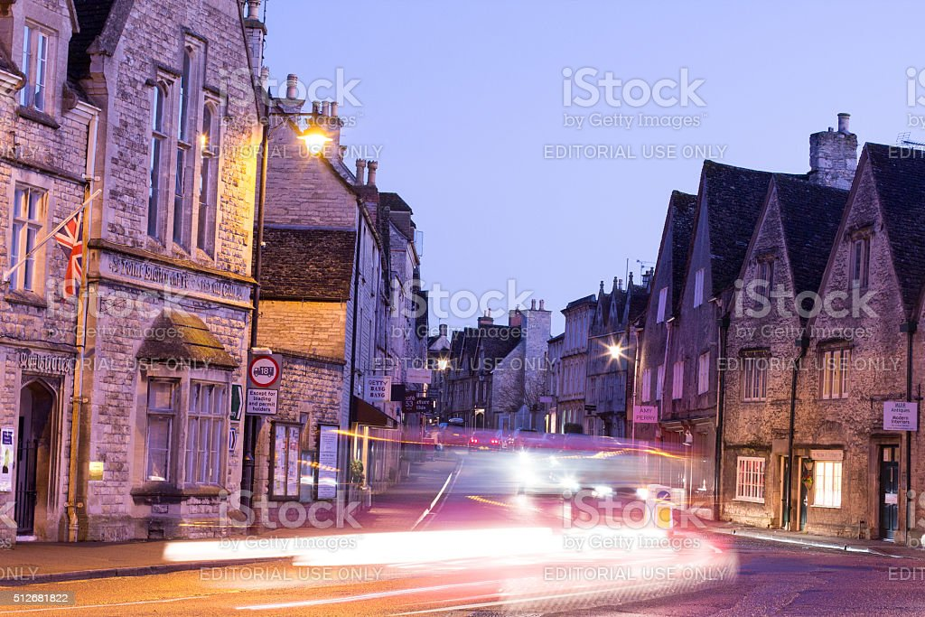 Tetbury in Gloucestershire, England stock photo
