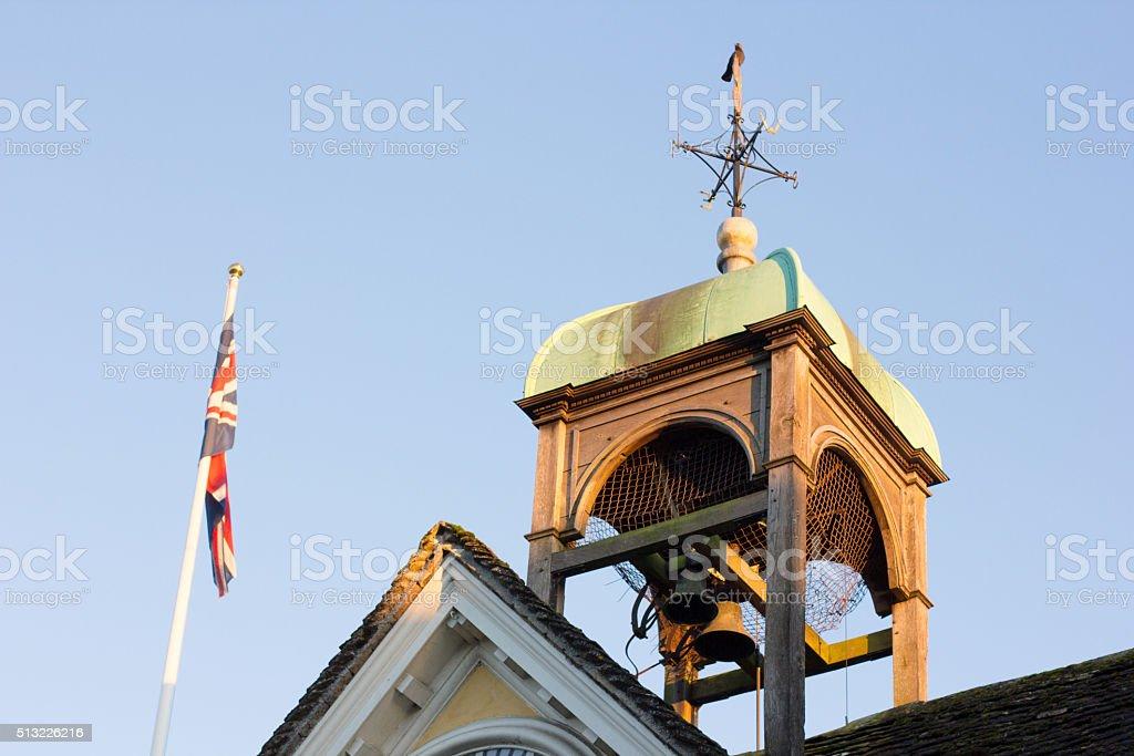 Tetbury Market Hall in Gloucestershire, England stock photo