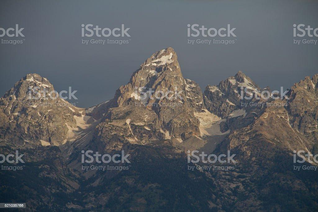 Teton Range II stock photo