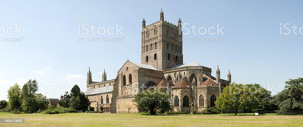 Tewkesbury Abbey stock photo