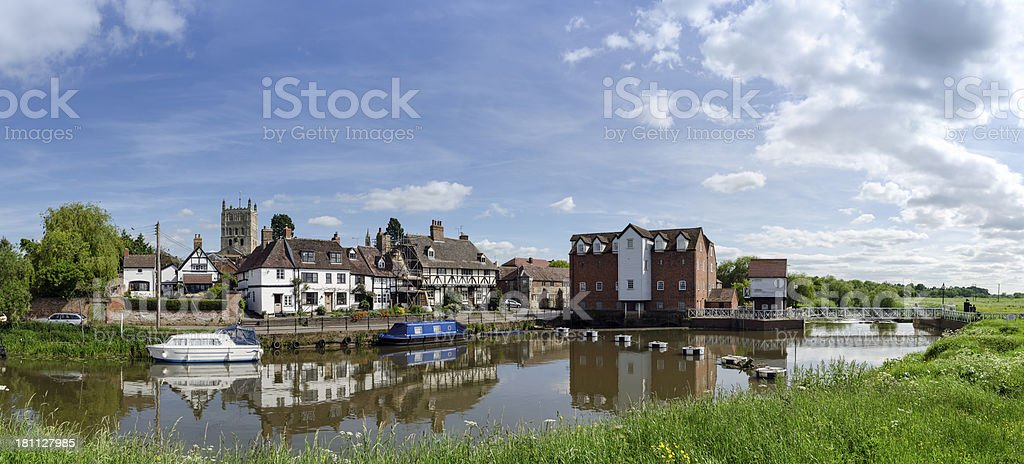 Tewkesbury, Gloucestershire, England royalty-free stock photo