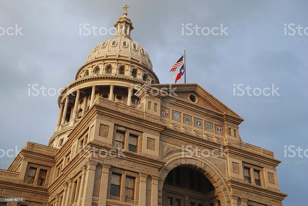 Texas Capitol royalty-free stock photo
