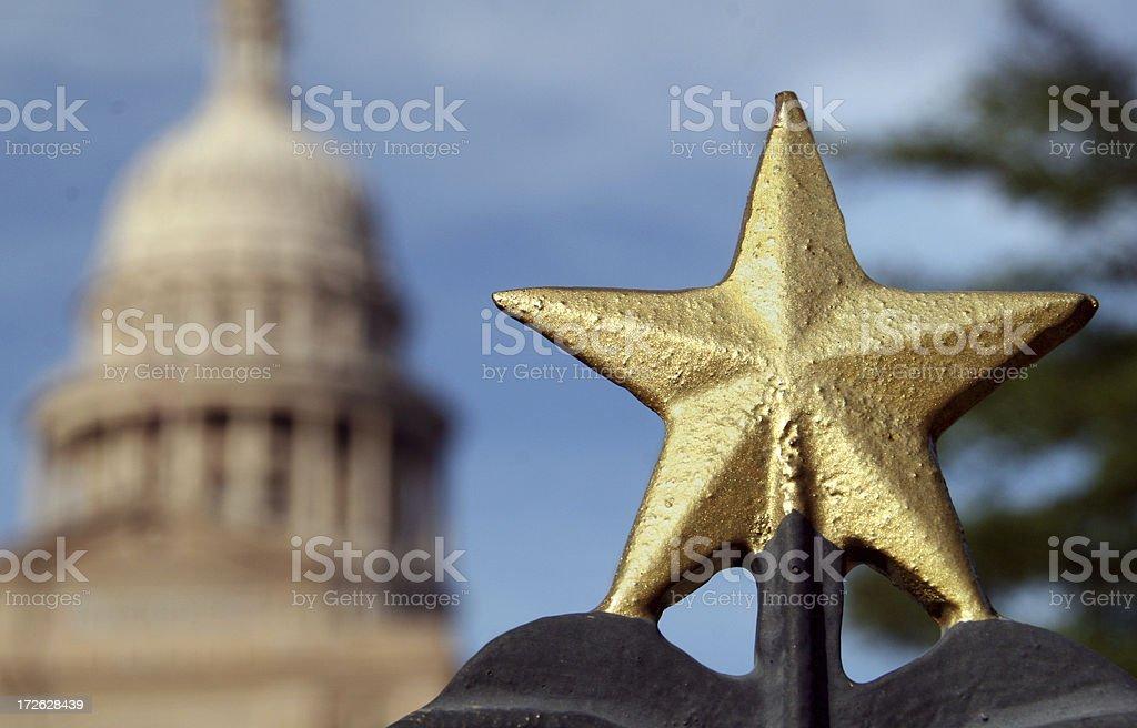 Texas Capitol royalty-free stock photo