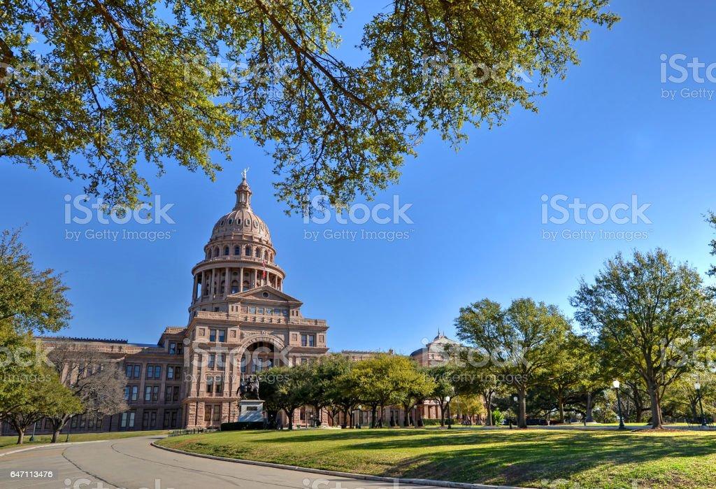 Texas Capitol stock photo