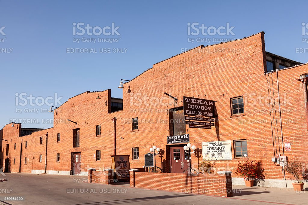 Texas Cowboy Hall of Fame in Fort Worth stock photo