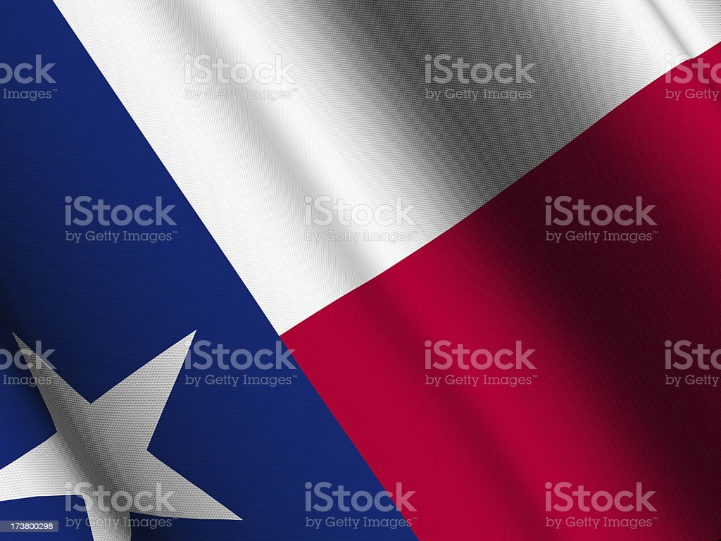 Texas flag close-up royalty-free stock photo