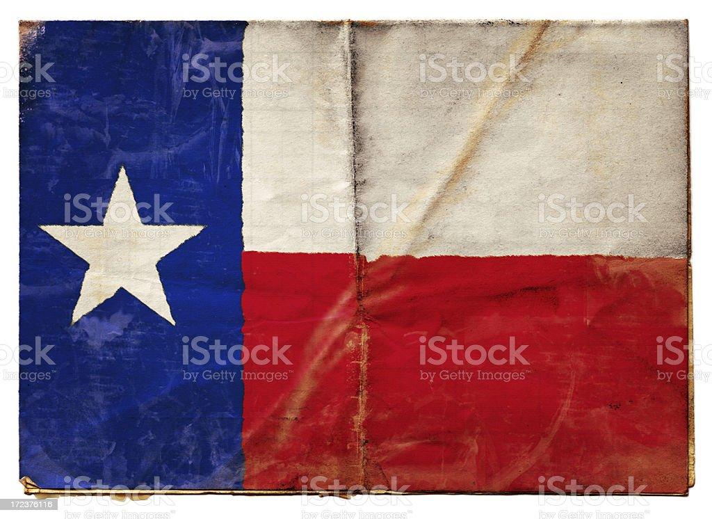 Texas flag (XXL) stock photo