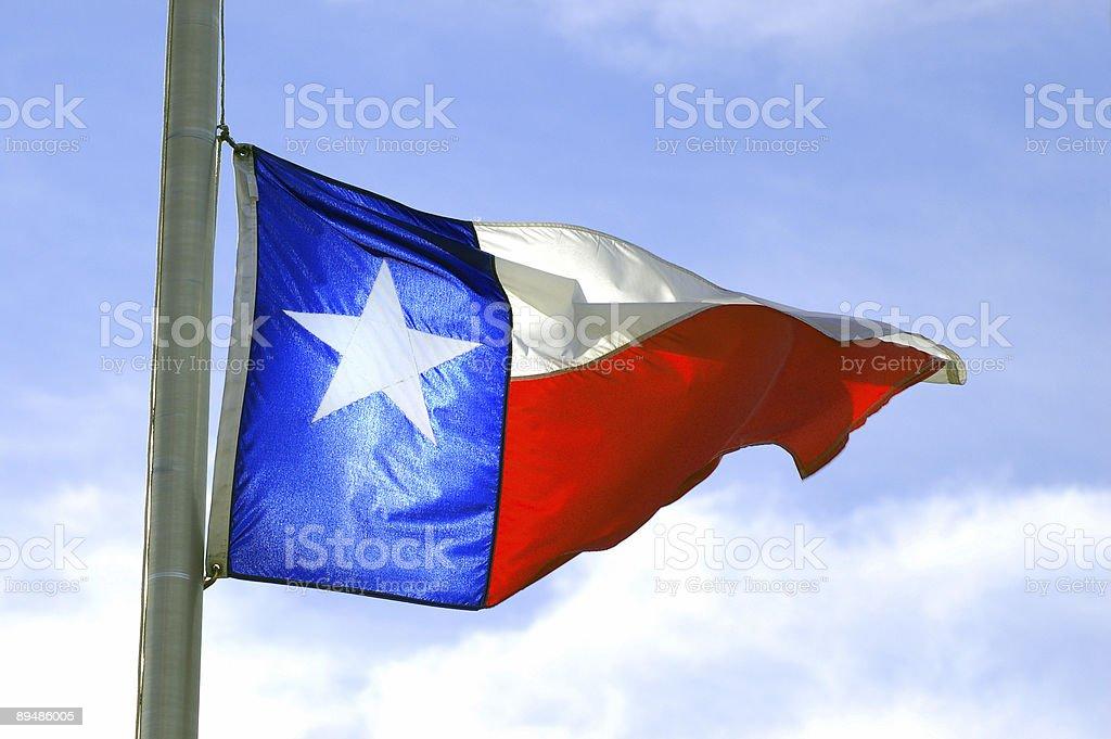 Texas Flag stock photo