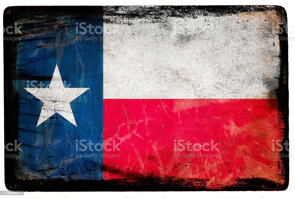 Texas Flag XXL royalty-free stock photo