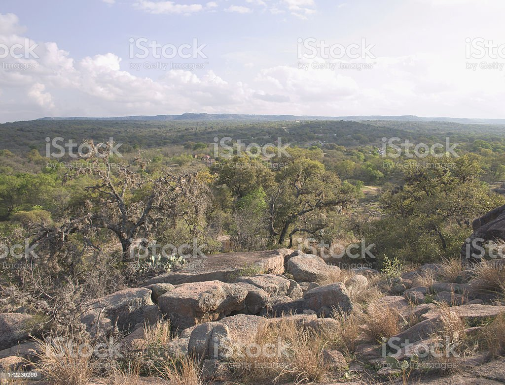 Texas hill country royalty-free stock photo
