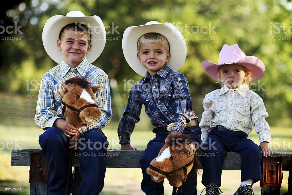 Texas Kids stock photo