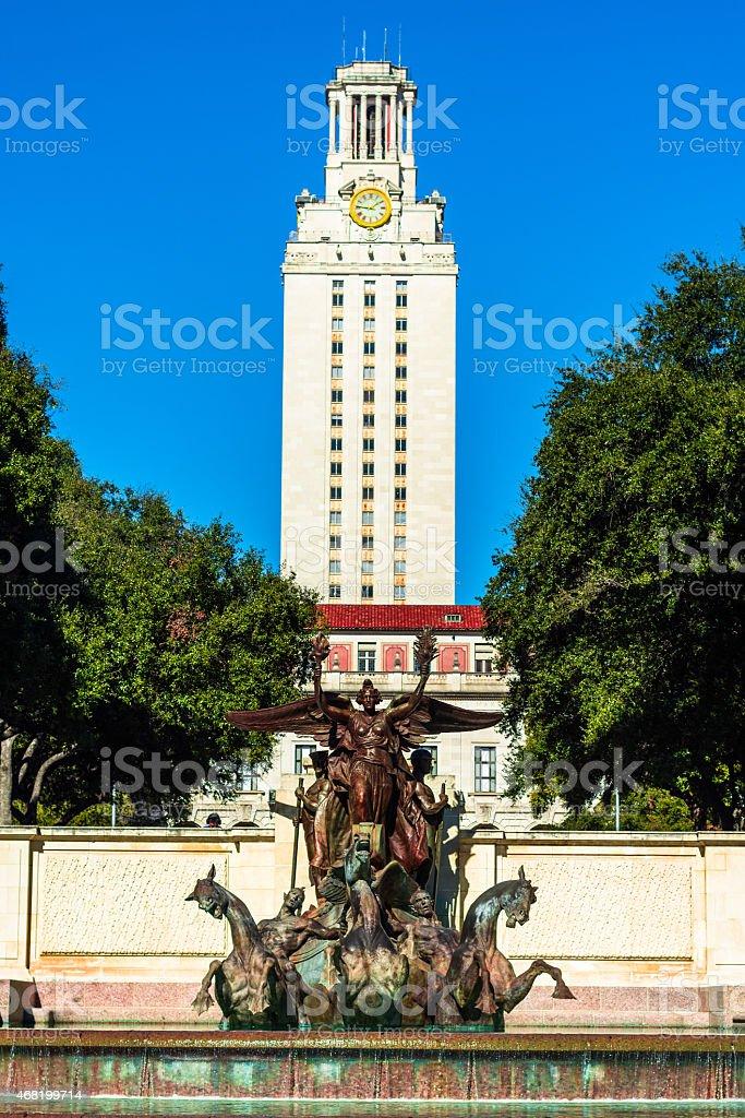 UT Texas stock photo