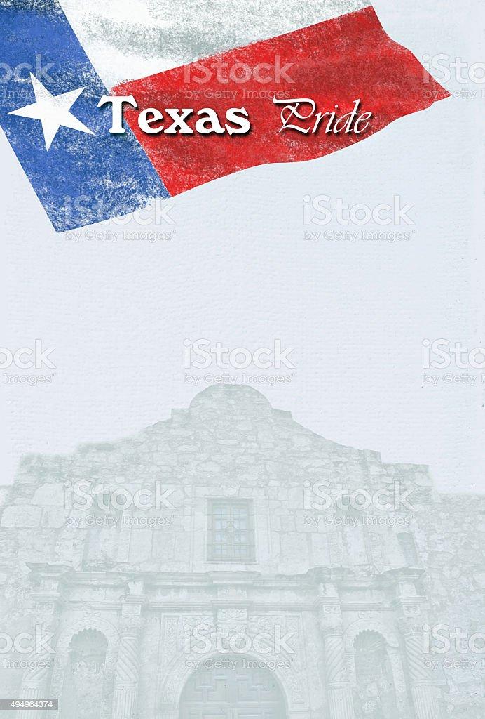 Texas Pride. stock photo
