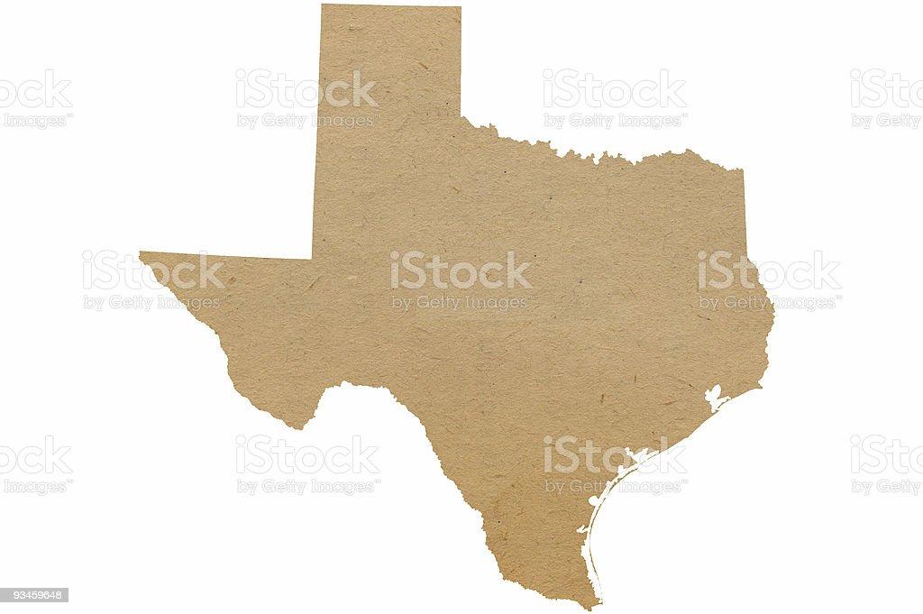 Texas Recycles stock photo