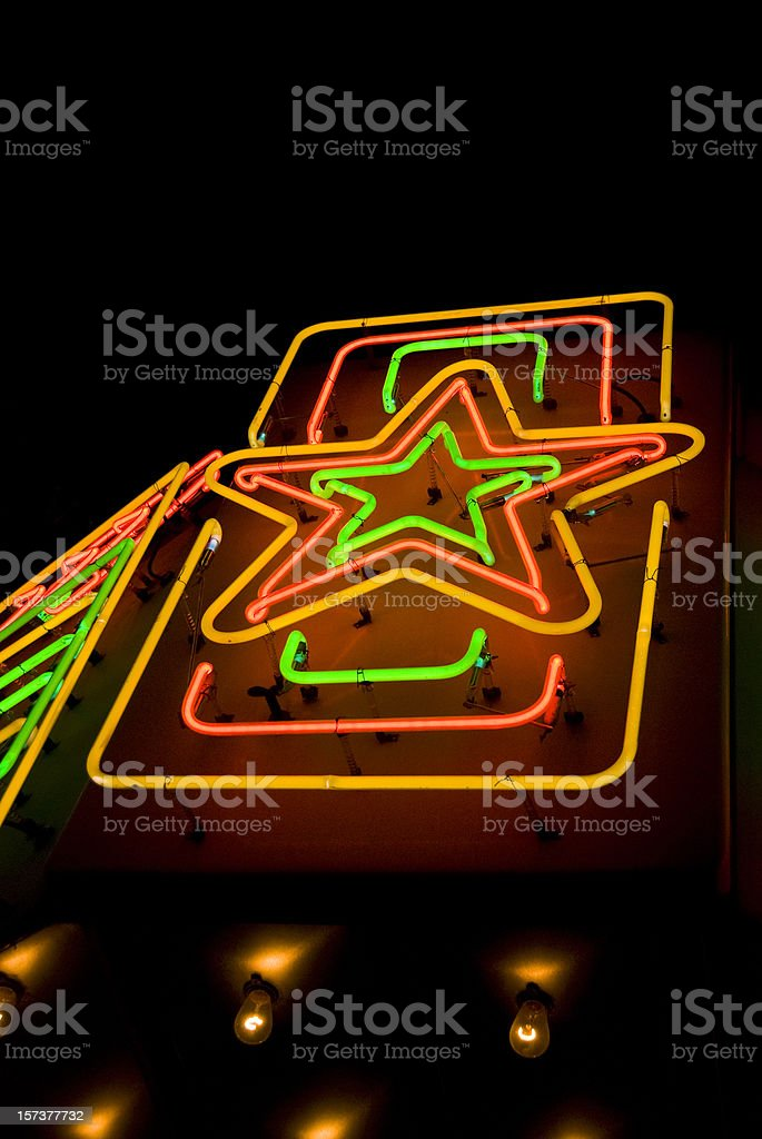 Texas Star stock photo
