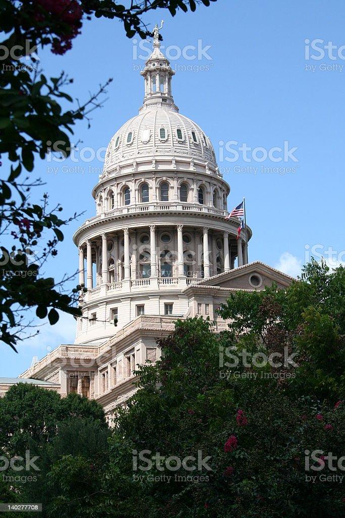 텍사스 주 의사당, 오스틴 royalty-free 스톡 사진
