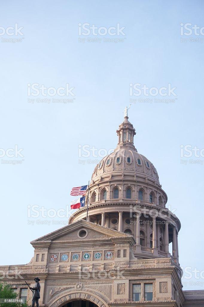 Texas State Capitol - Austin, TX stock photo