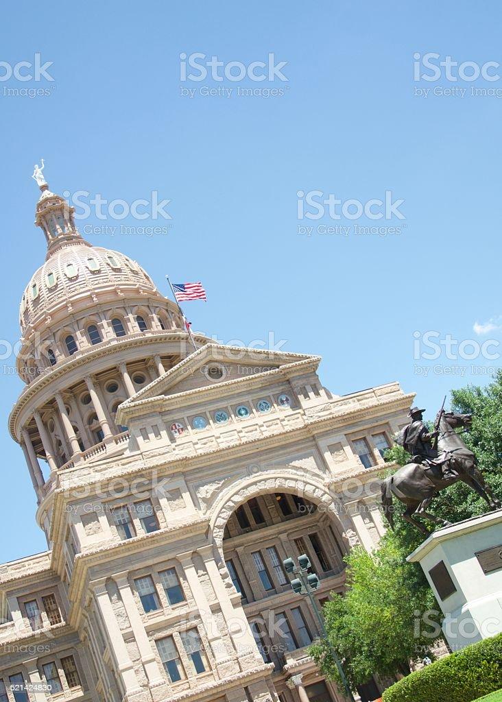 Texas State Capitol Building - Austin, TX stock photo