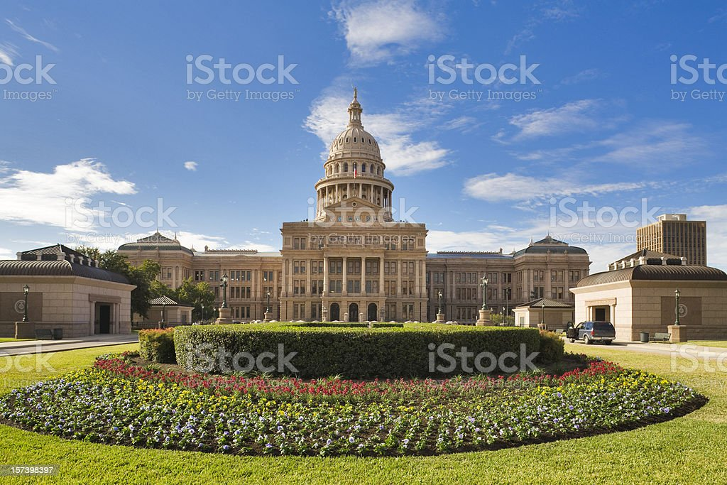 Texas State Capitol Building in Austin royalty-free stock photo