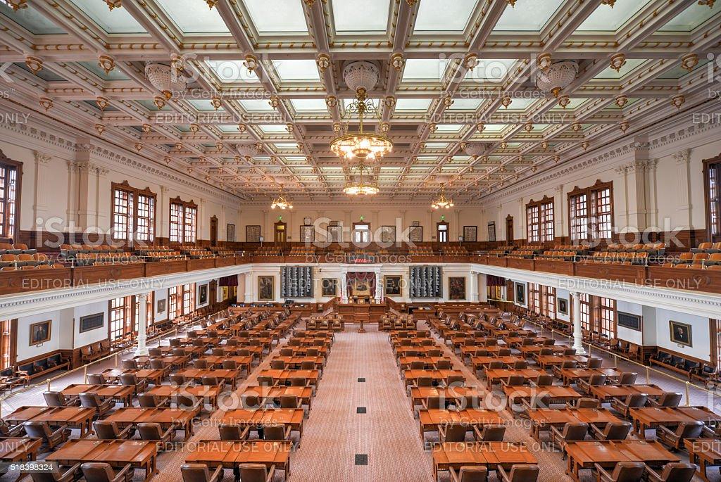 Texas State Capitol House of Representatives, Austin, Texas stock photo