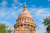 Texas State Capitol in Downtown Austin USA