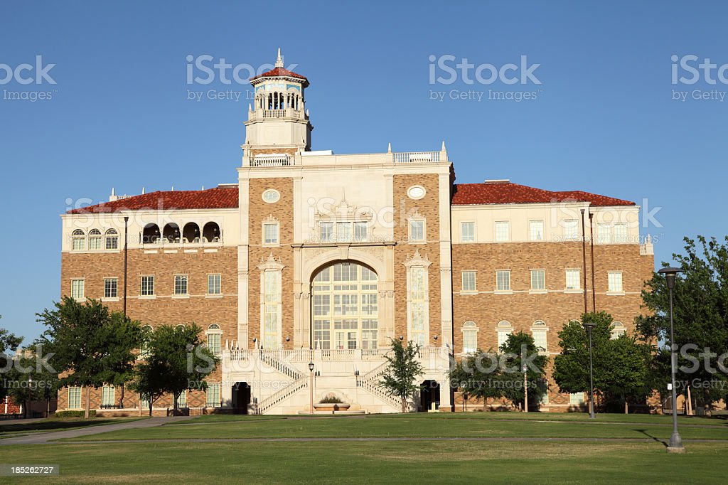 Texas Tech University stock photo