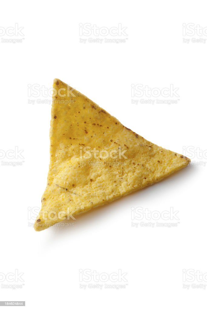 TexMex Food: Nacho royalty-free stock photo
