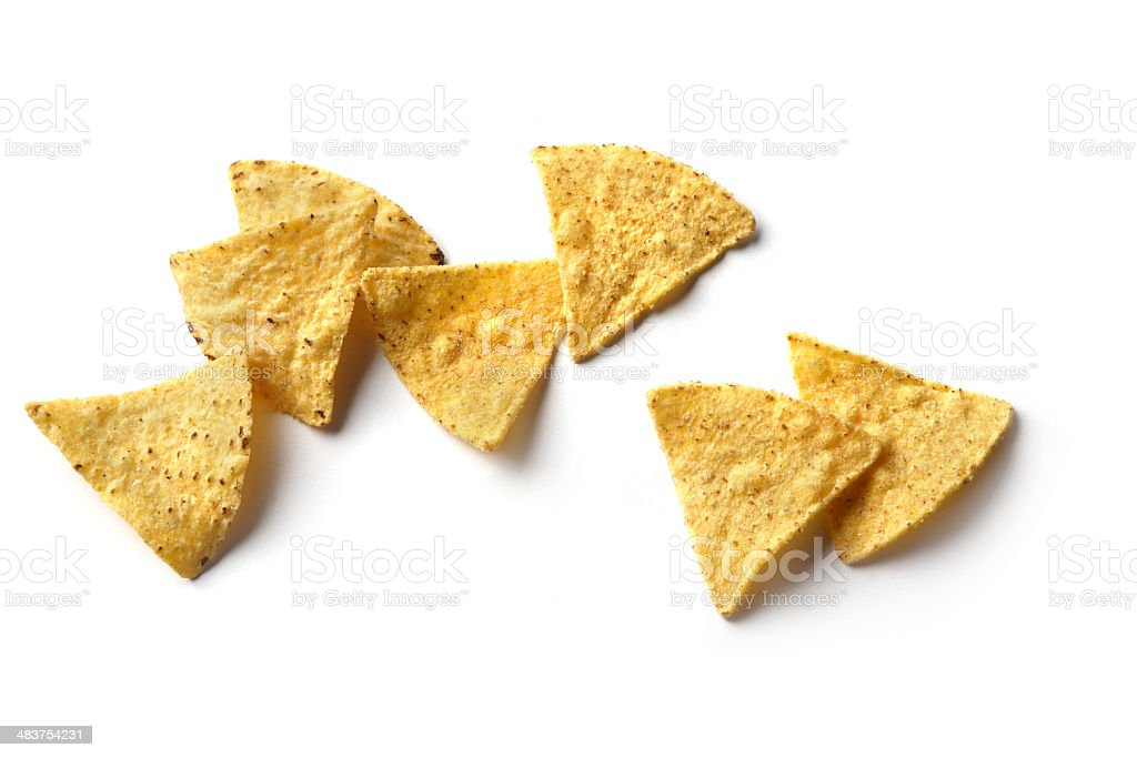 TexMex Food: Nachos stock photo