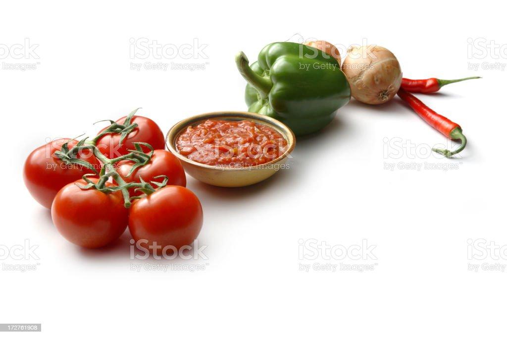 TexMex Food: Salsa stock photo