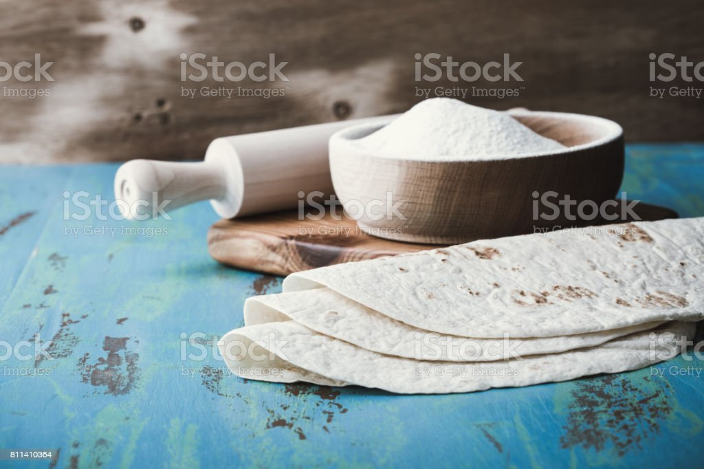 Tex-mex style, mexican food stock photo